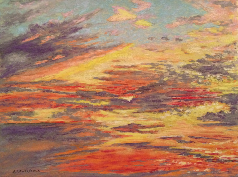 sherry_lewis_seals-red_in_the_morning_ii