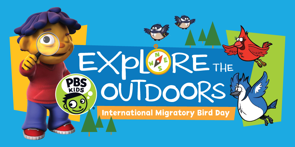 Explore the Outdoors: International Migratory Bird Day