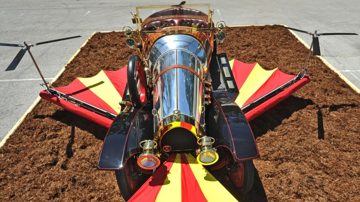 Oh, you, Chitty Chitty Bang Bang, we'll see you this weekend