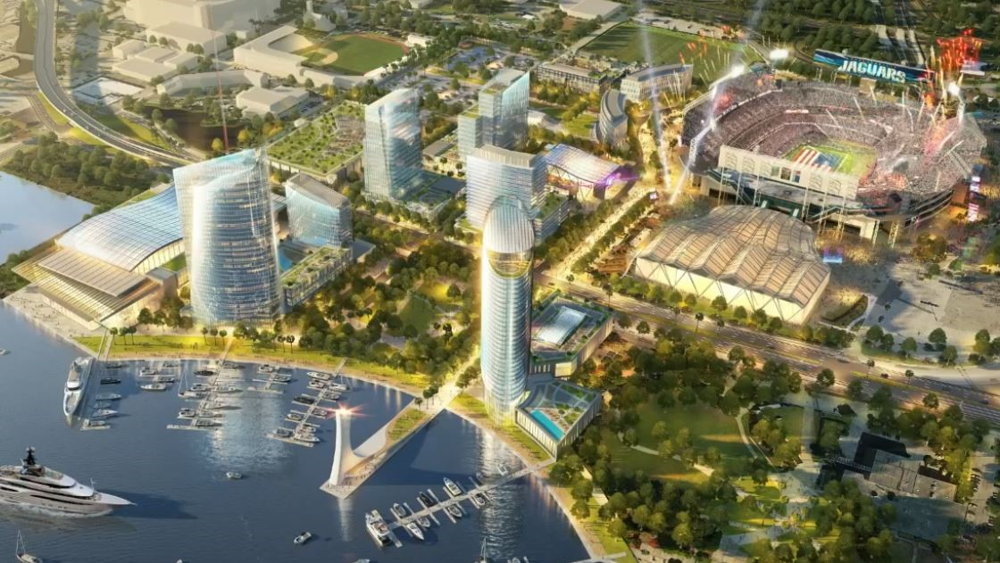 Jaguars Announce Cordish Companies As Lot J, Shipyards Developer; New Dog Park Coming To Stadium