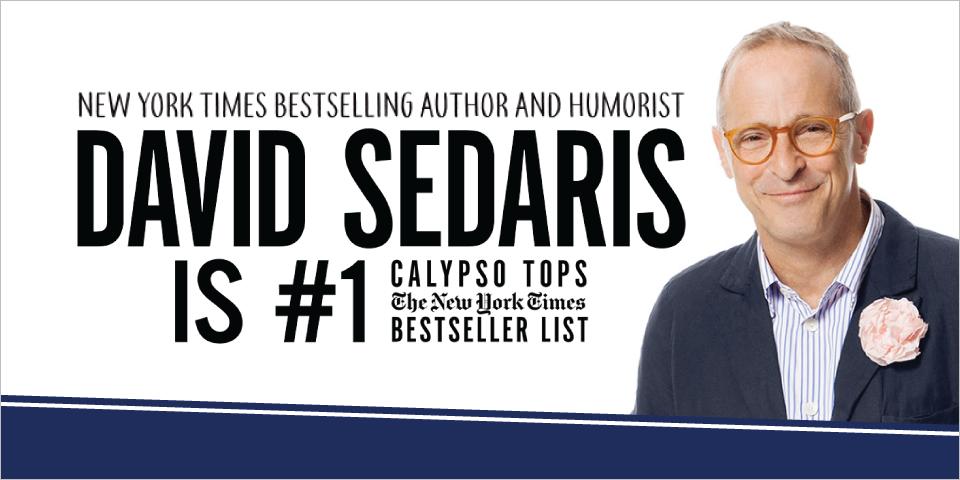 David Sedaris - LIVE in Jacksonville
