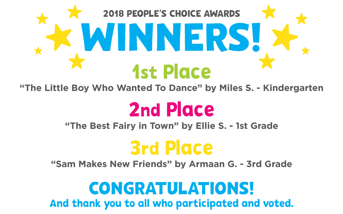 2018 Wjct Pbs Kids Writers Contest Wjct