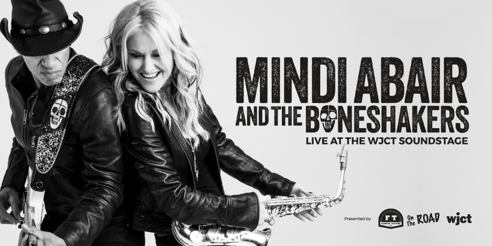 Mindi Abair & The Boneshakers at the WJCT Soundstage