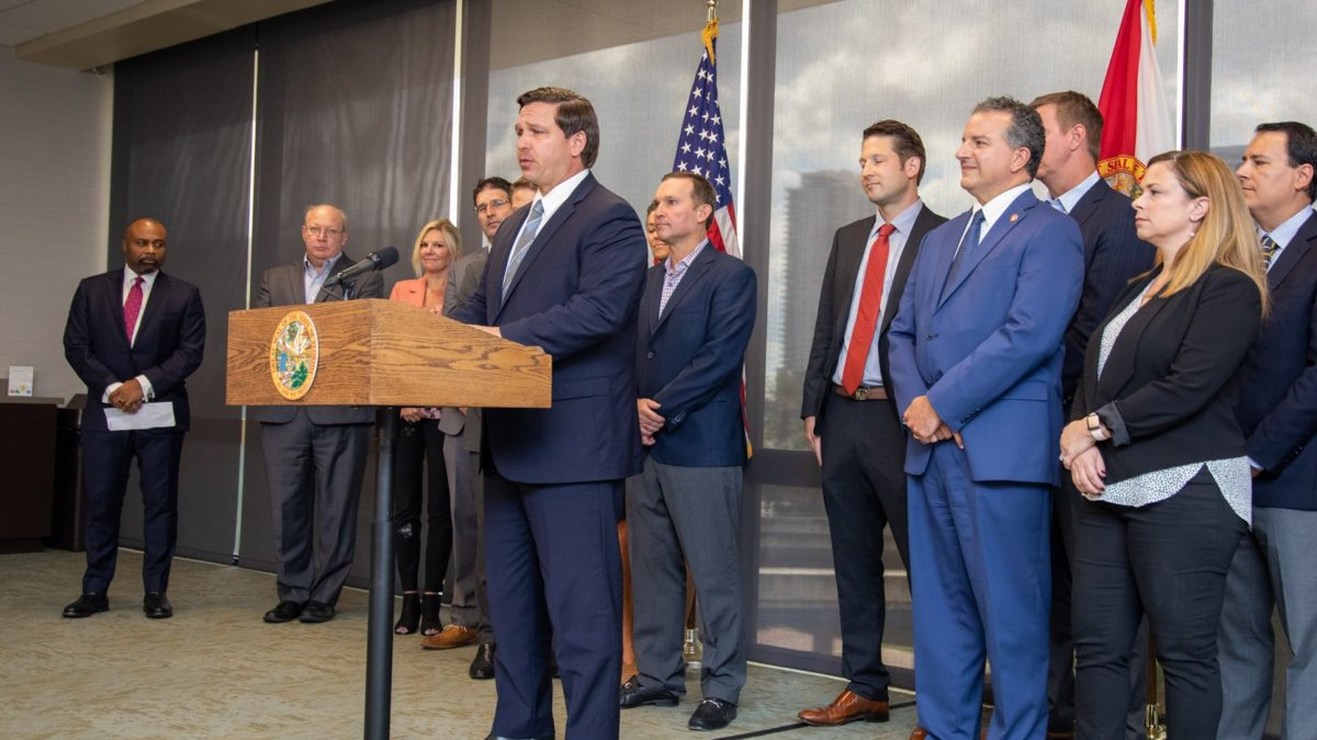 DeSantis Visits Jacksonville To Announce Plan For Financial Services Technology Training