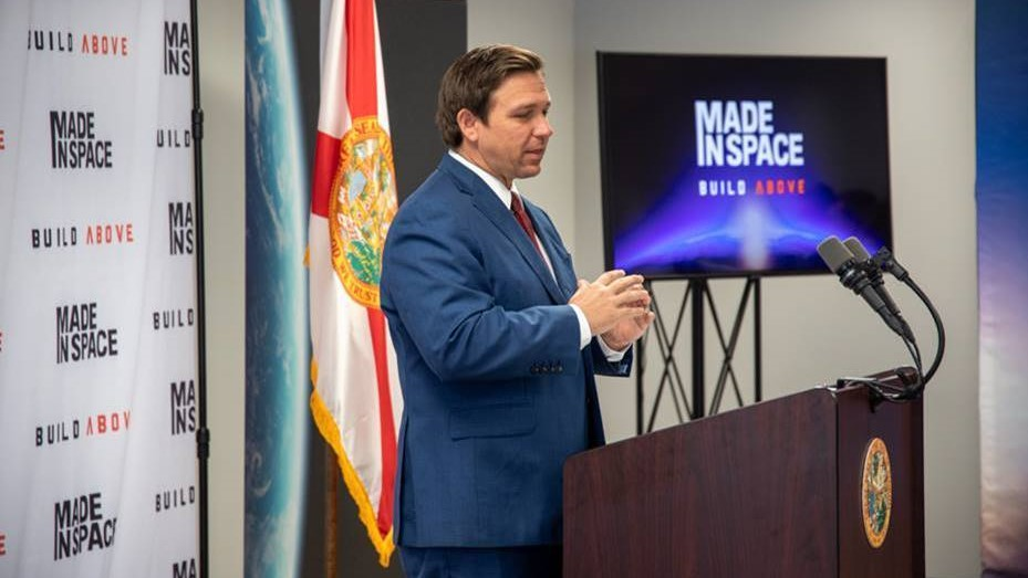 Gov. DeSantis Announces Made In Space Is Moving Headquarters To Jacksonville