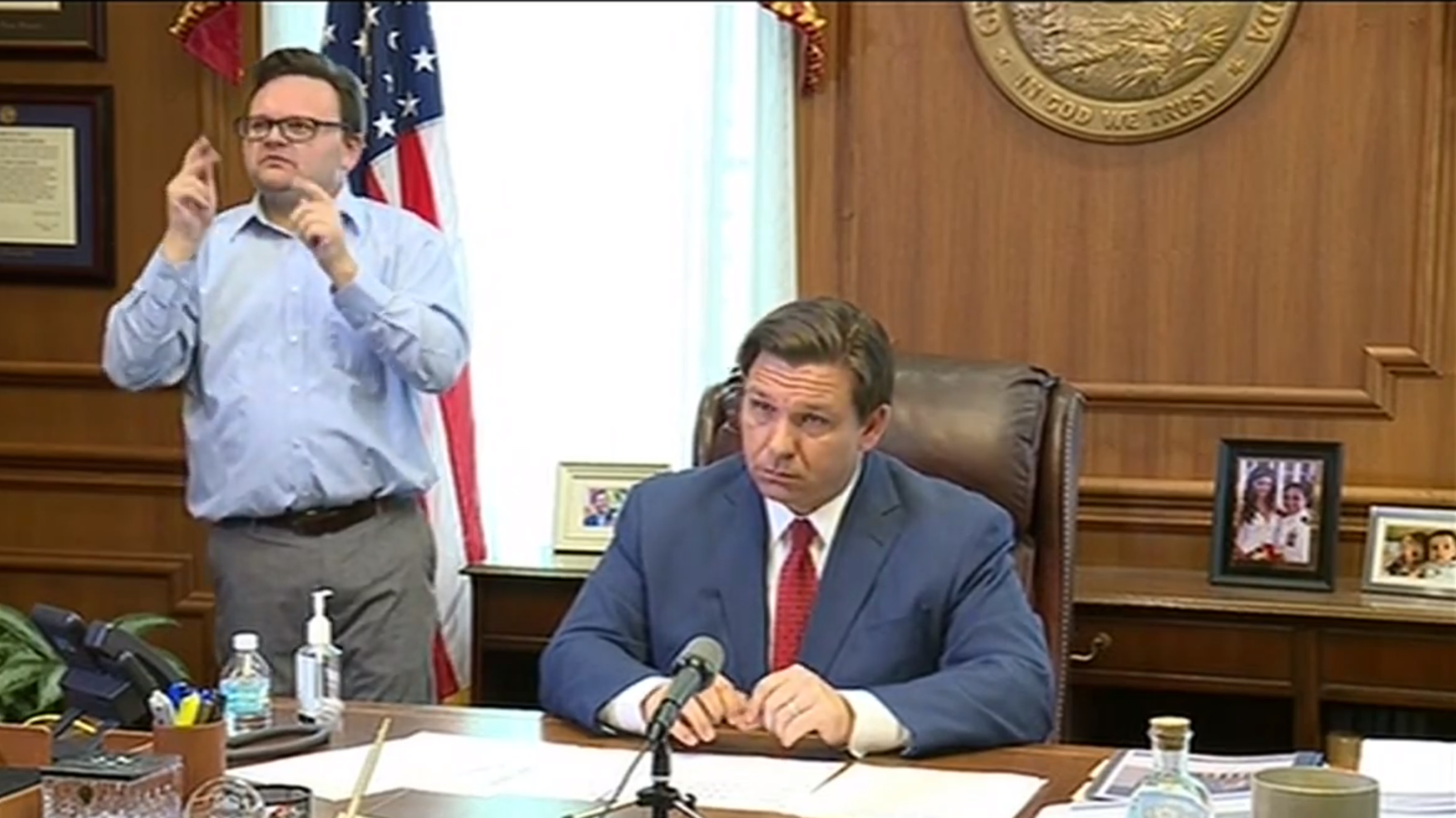 DeSantis Tells Floridians To Stay At Home Except For Essential Services