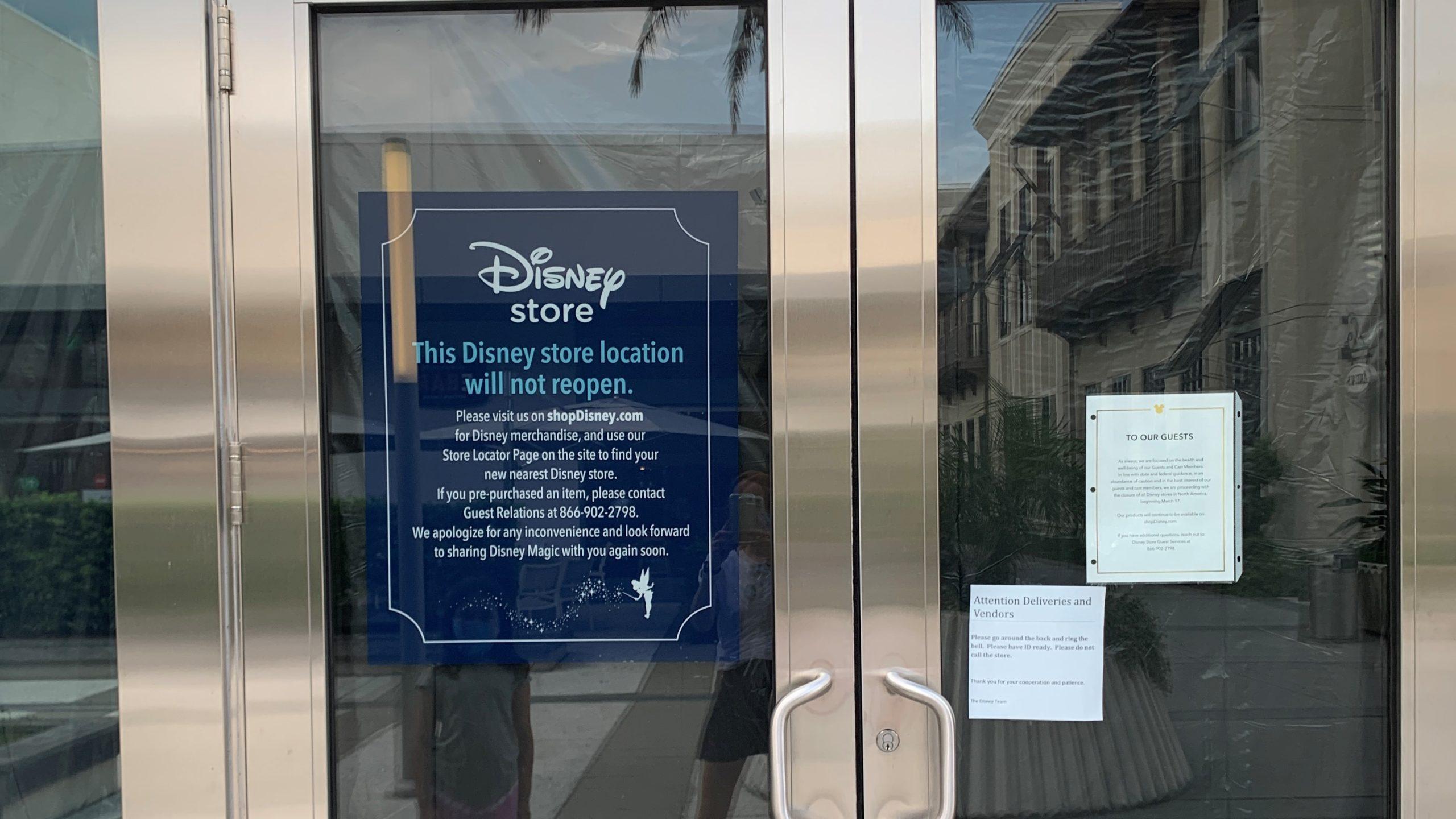 Disney Says Its St. Johns Town Center Store Won't Reopen