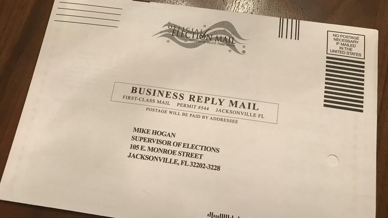Vote-By Mail: 'Read The Instructions' Duval Elections Supervisor Urges