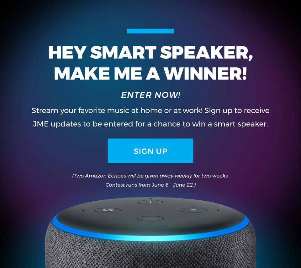 JME Amazon Echo Giveaway - Sign Up Today!