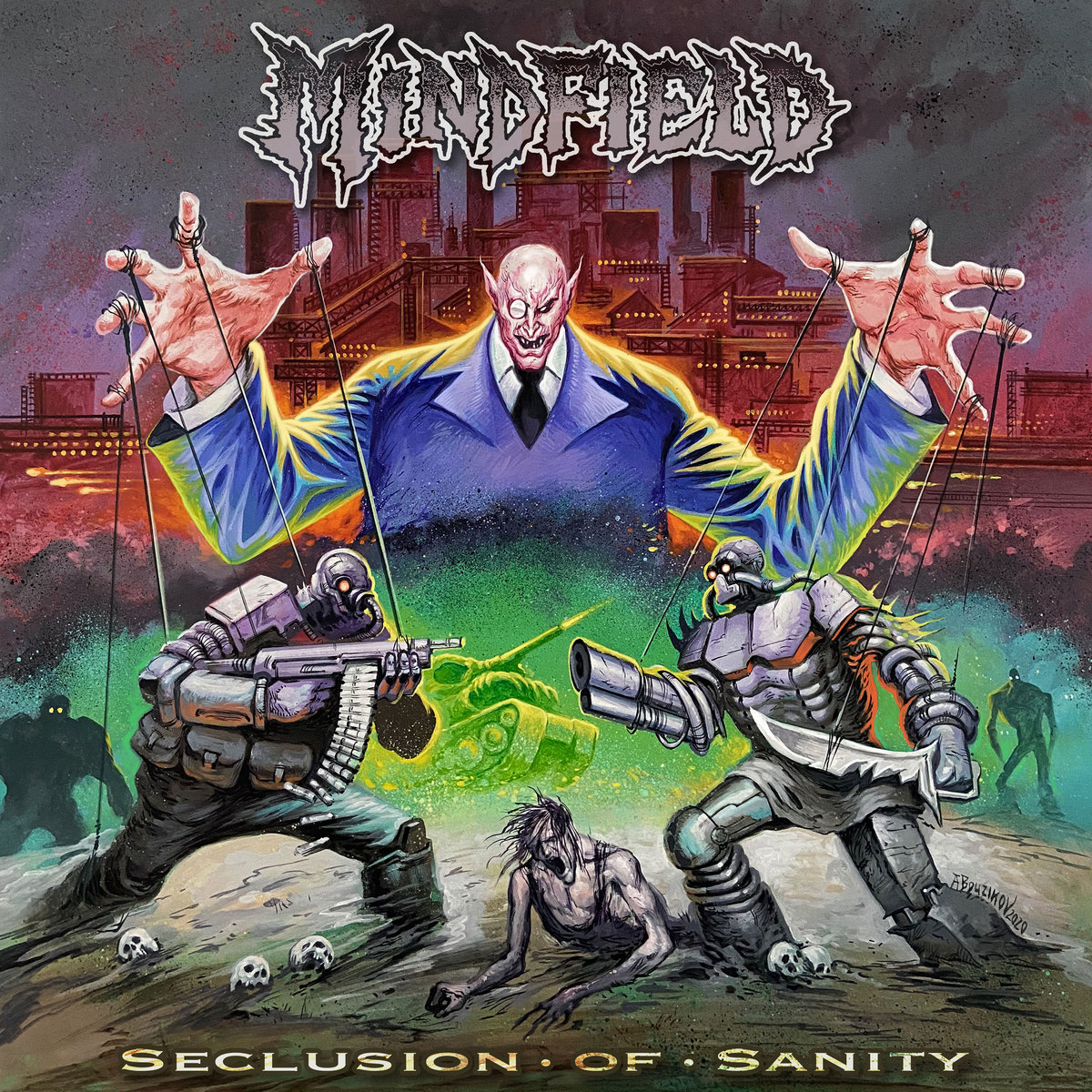 Mindfield Album Cover