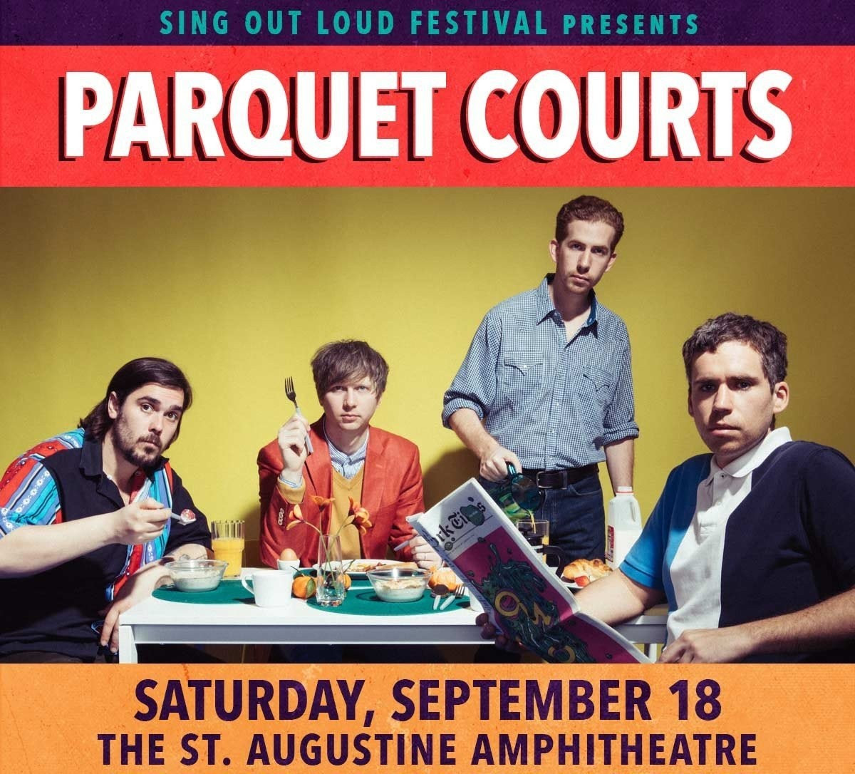 Parquet Courts sing out loud