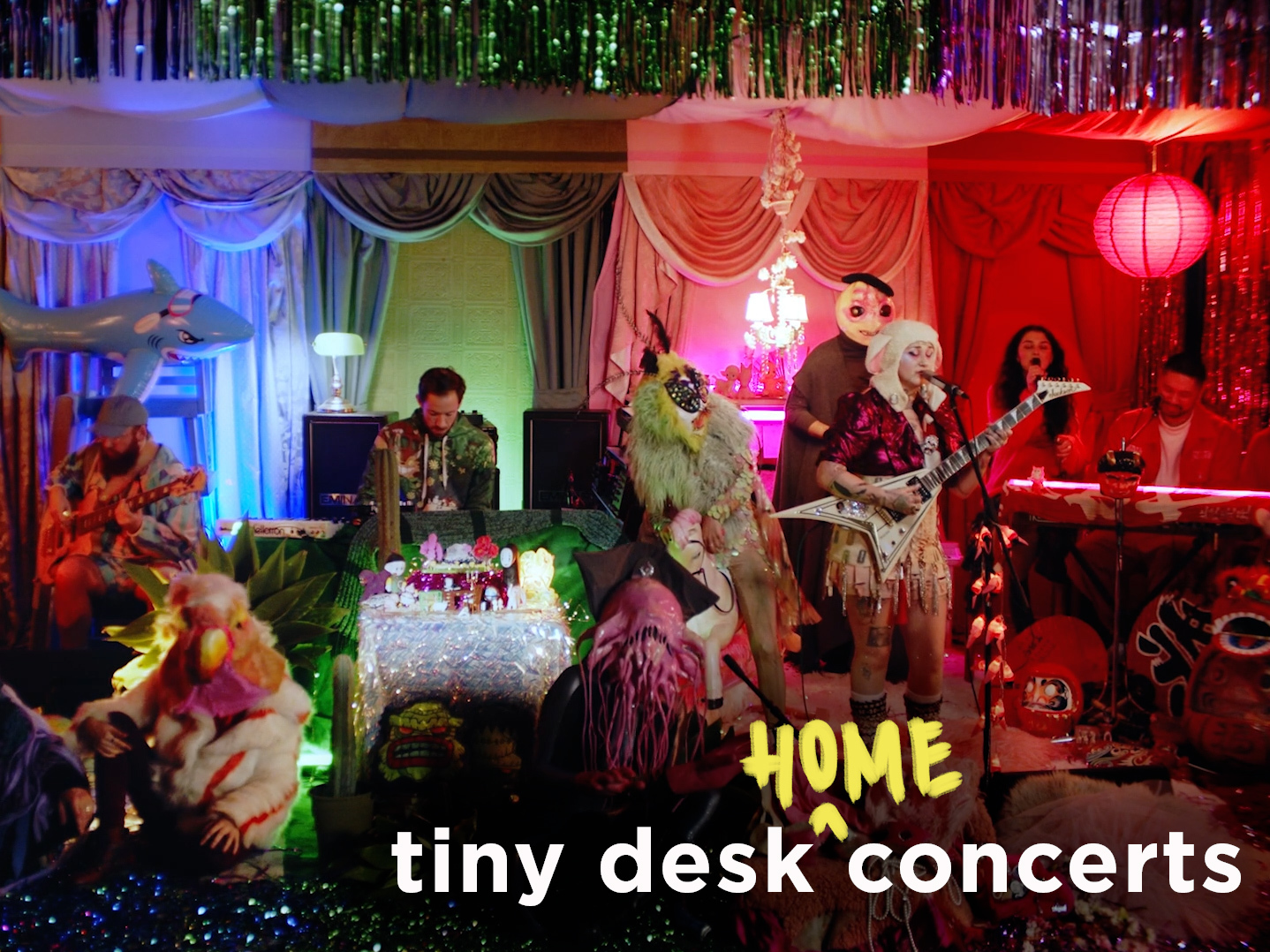 """Featured image for """"Hiatus Kaiyote: Tiny Desk (Home) Concert"""""""