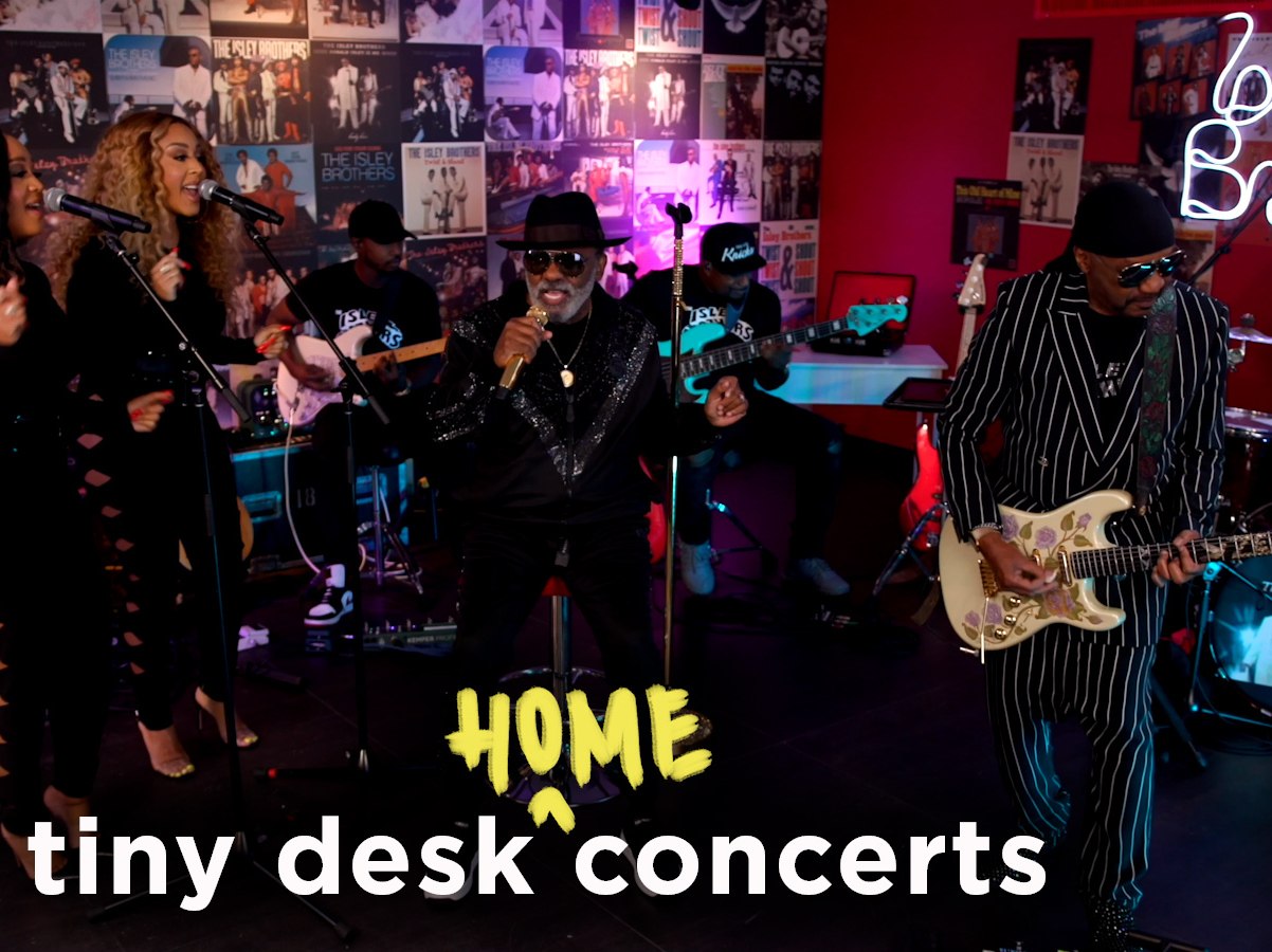 """Featured image for """"The Isley Brothers: Tiny Desk (Home) Concert"""""""