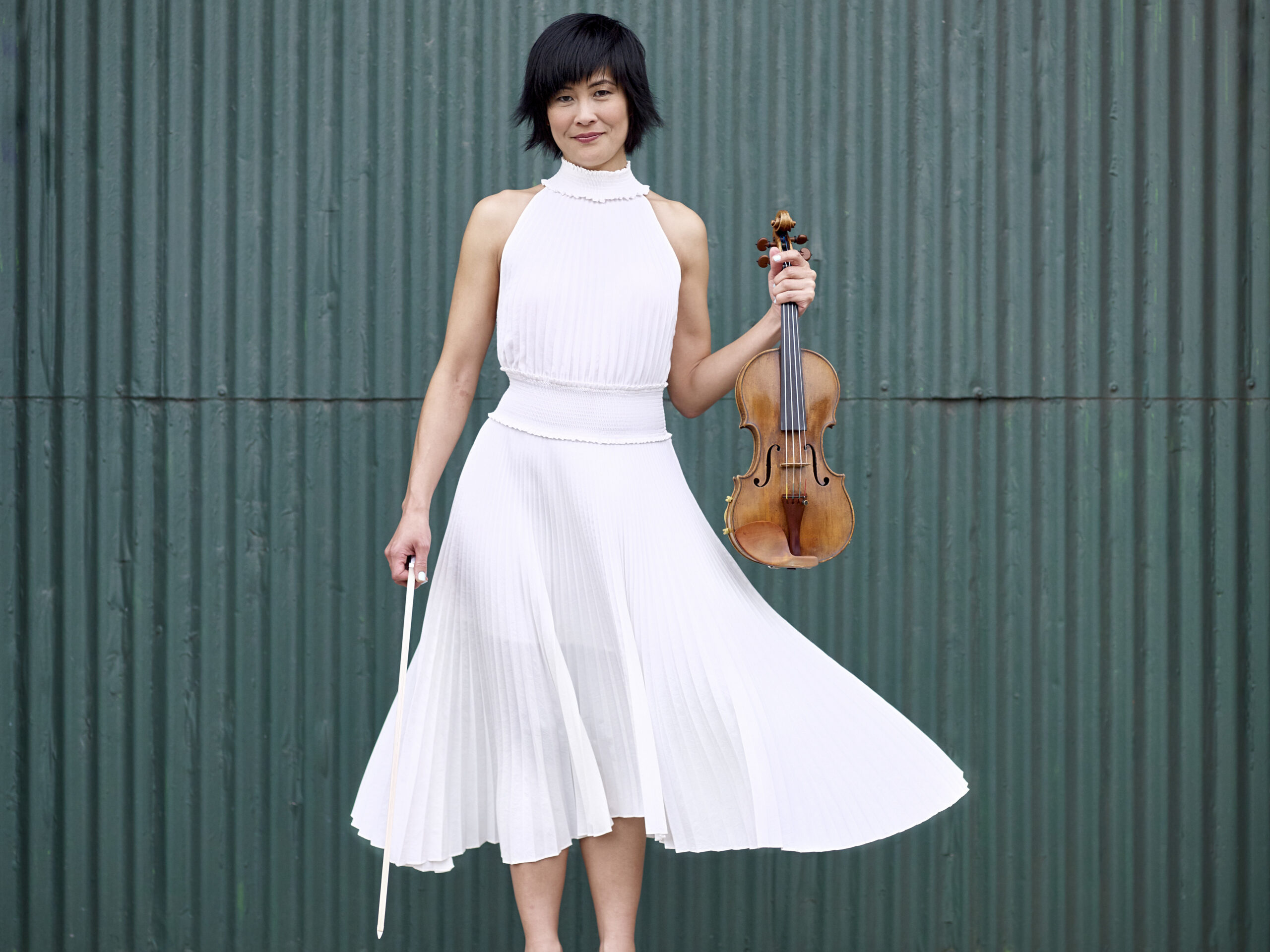 """Featured image for """"Isolated By Pandemic, Violinist Jennifer Koh Nurtured A New Community Online"""""""