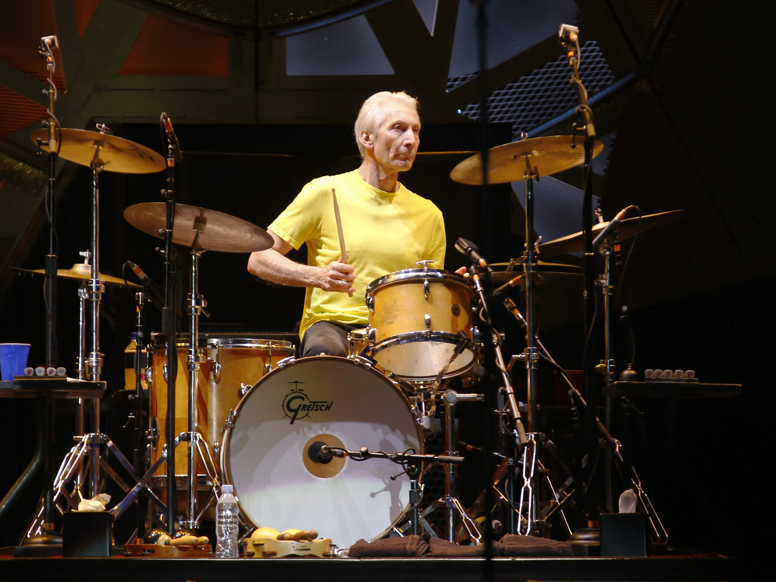 """Featured image for """"Rolling Stones Drummer Charlie Watts Dies At 80"""""""