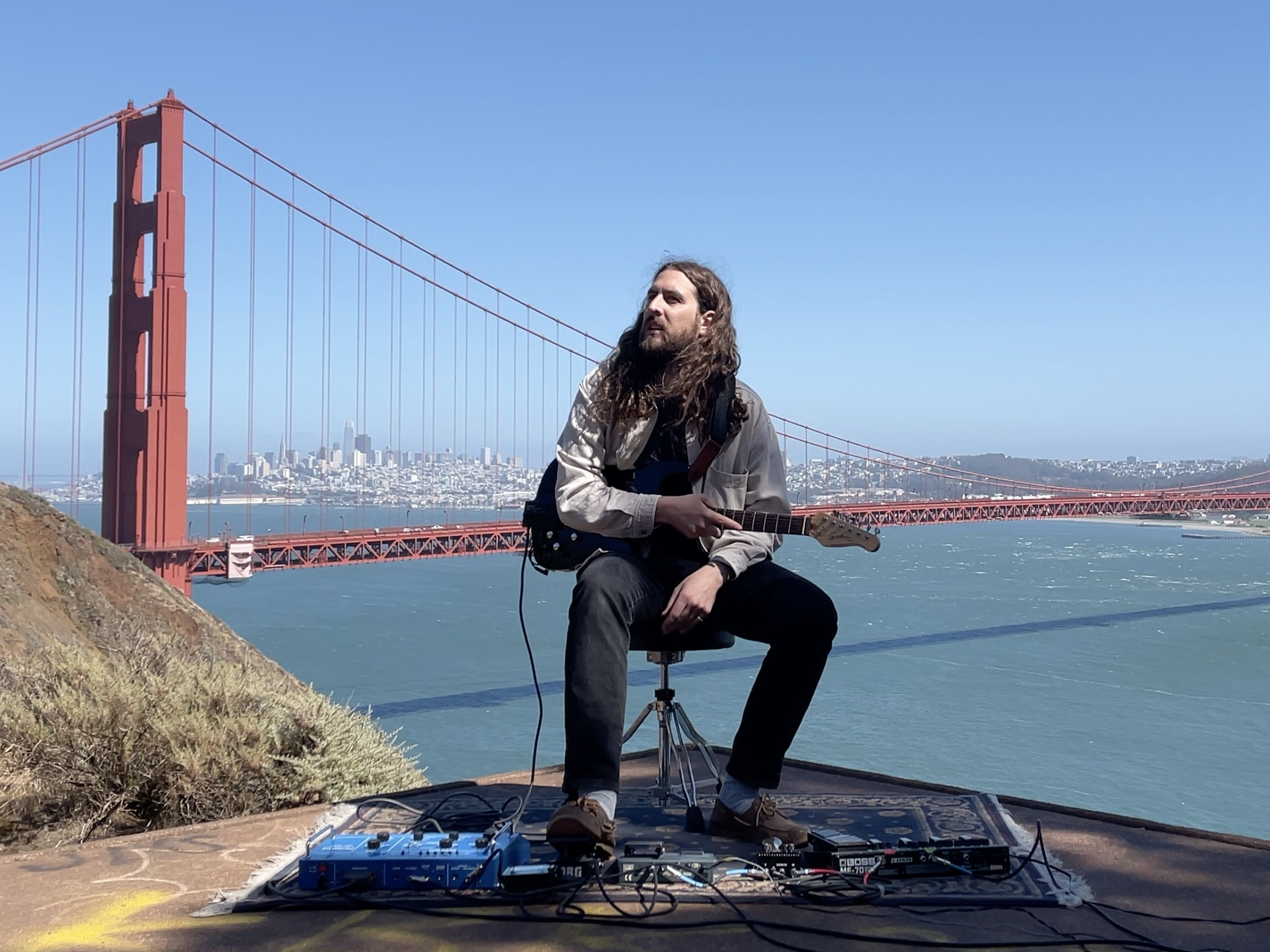 """Featured image for """"This Musician's Unlikely Duet Partner? The Golden Gate Bridge"""""""