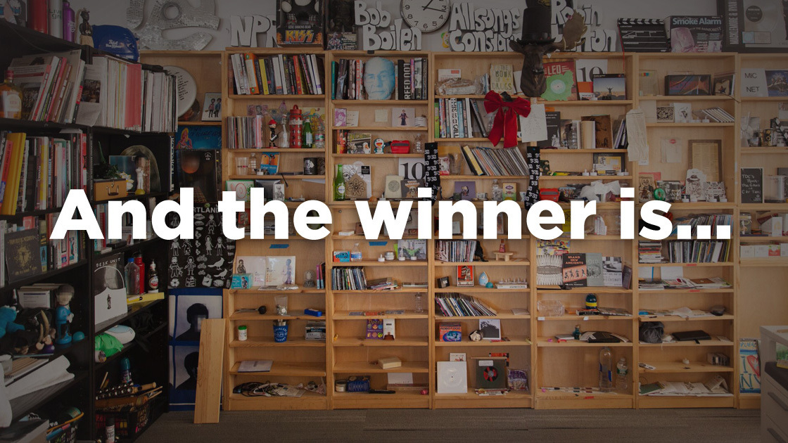 """Featured image for """"Announcing The Winner Of The 2021 Tiny Desk Contest"""""""