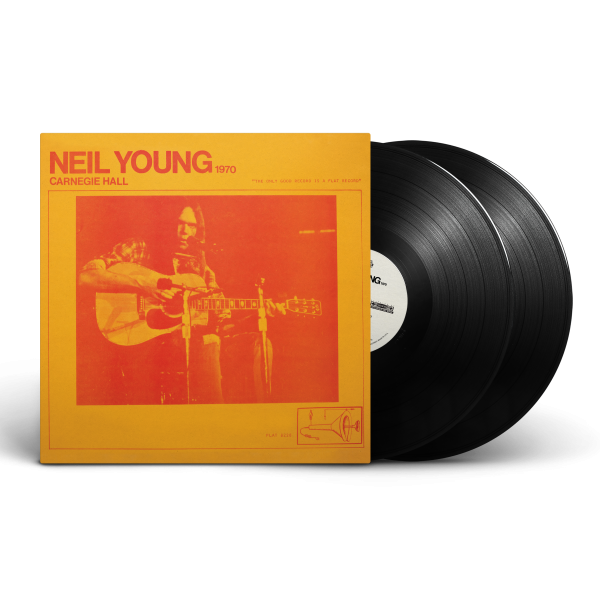 """Featured image for """"Neil Young's mythical 1970 Carnegie Hall Performance Gets the Vinyl Treatment"""""""